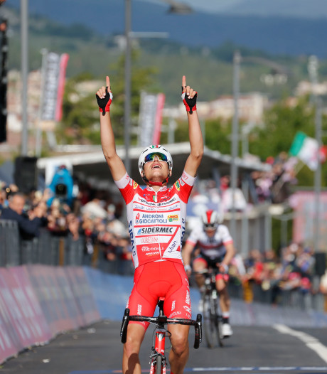 Tour d'Italie: la 6e étape pour Masnada, Conti maillot rose