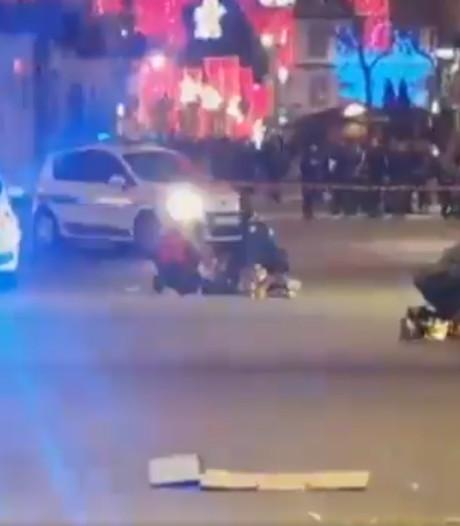 Terreuraanslag in Straatsburg: vier doden en elf gewonden