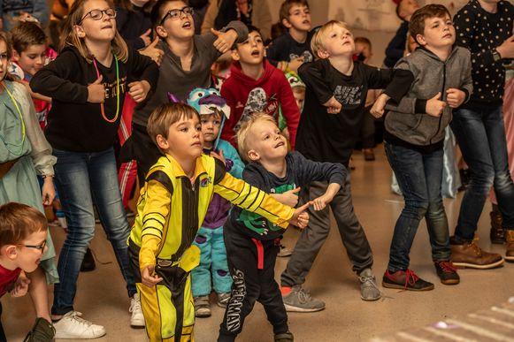 Buitenschoolse kinderopvang 't Berenhuisje viert carnaval.