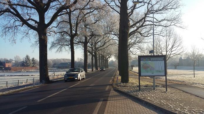 De huidige Arnhemseweg.