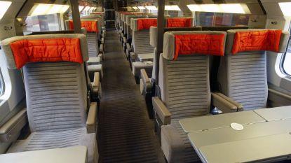 Man doet behoefte op zetels van trein: NMBS krijgt 3.845 euro