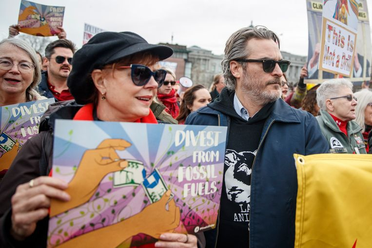 Susan Sarandon en Joaquin Phoenix