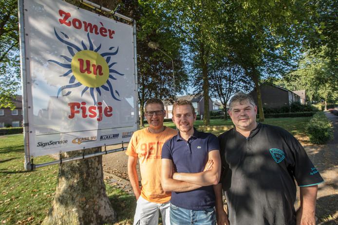 De organisatie van het nieuwe zomerfestival(letje) in Reusel.