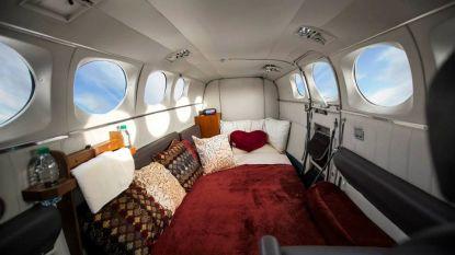 Wil je eens vrijen in een vliegtuig? Bij dit bedrijf kan het!