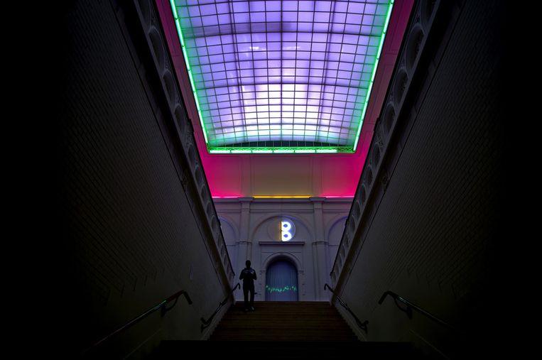 De centrale trap in het Stedelijk Museum Beeld ANP