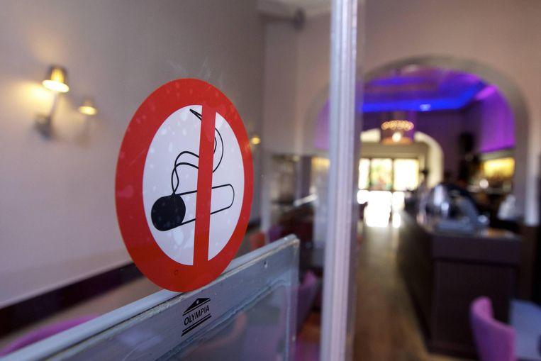 Op naar een volledig rookverbod in alle sporclubs.