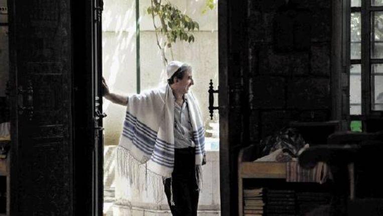 Fouad Helwan: 'Wij zijn allemaal rabbi?s.' (FOTO ROULA NASRALLAH) Beeld