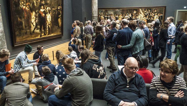 Dit weekend staat het Rijksmuseum in het teken van 'The Big Draw'. Beeld Floris Lok