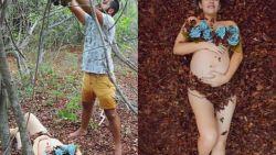 Fotograaf onthult hét geheim achter  perfecte foto's op Instagram. In realiteit is het tafereel veel minder idyllisch
