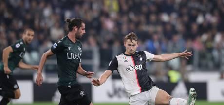 Juventus wint in eigen huis nipt van Bologna