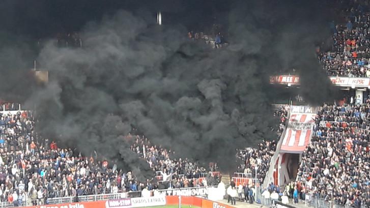 Fors lagere straffen voor rookpothooligans PSV