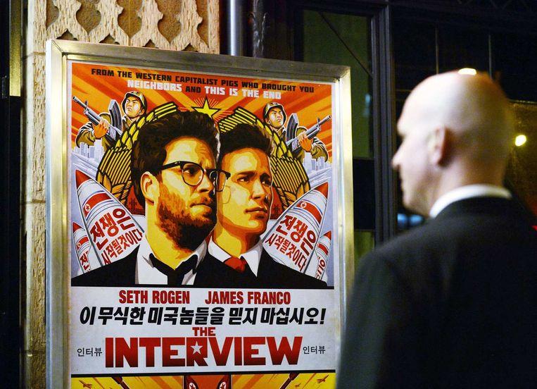 De film waar het de hackers om te doen is; the Interview. Beeld reuters