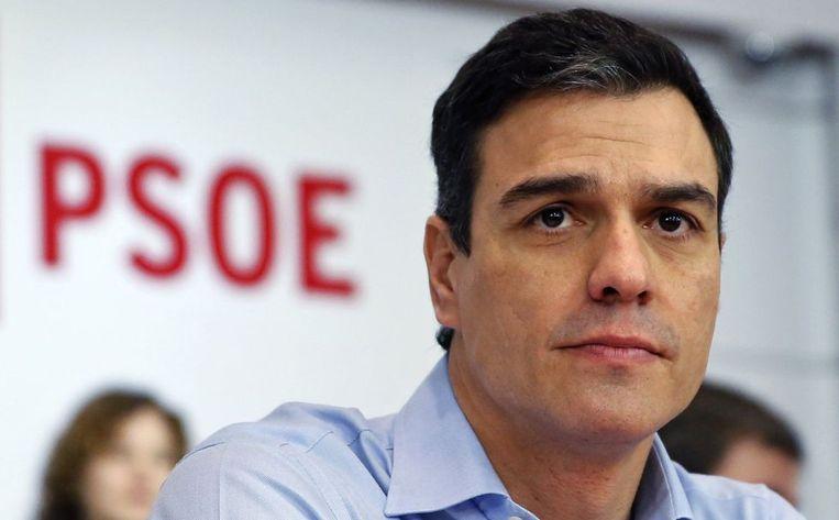 Pedro Sánchez is sinds juni 2018 eerste minister van Spanje.