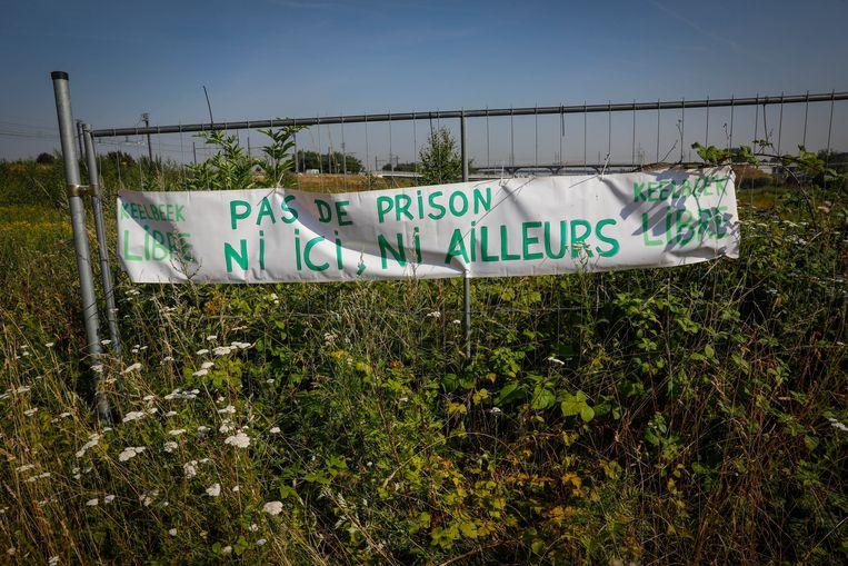In juli vorig jaar was er al veel protest rond de bouw van de gevangenis.