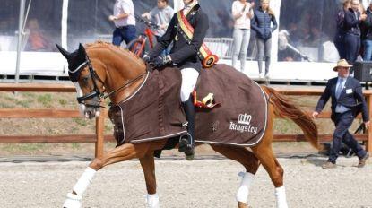 Wát een verjaardagscadeau: 14-jarige Alexander Belgisch kampioen dressuur Children