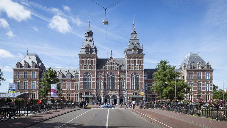 Nederlandse musea, waaronder het Rijksmuseum, zijn begonnen met het aanpassen van omschrijvingen 'die echt niet meer kunnen'. Beeld anp