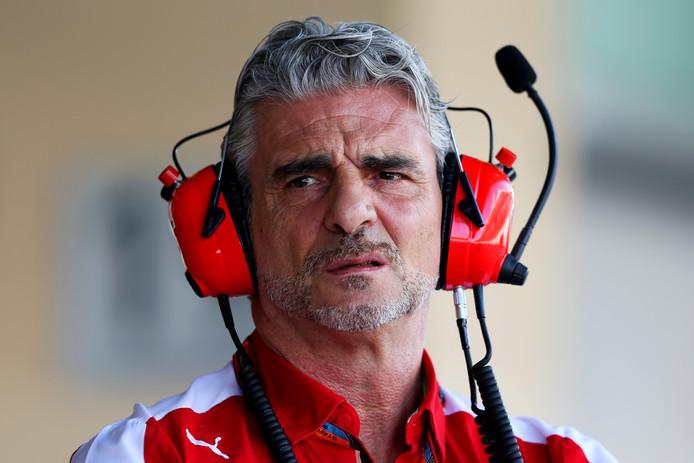 Ferrari-teambaas Maurizio Arrivabene.