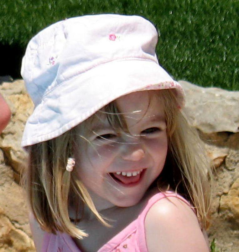Madeleine McCann enkele weken voor haar verdwijning. Beeld afp