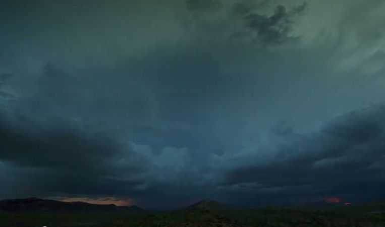 Still uit de trailer van de BBC-serie 'Wonders of the Monsoon'. Beeld