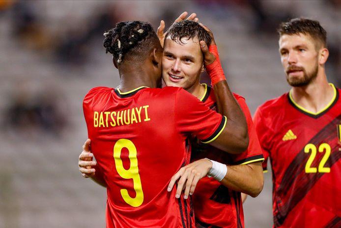 Une première prestation convaincante pour Zinho Vanheusden avec les Diables Rouges.