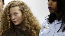 Acht maanden cel voor Palestijns tienermeisje dat Israëlische soldaat schopte
