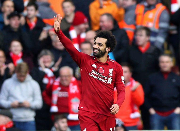 Mohamed Salah nam de eerste goal voor zijn rekening.