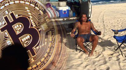 """Vader die alles verkocht voor bitcoins ziet crash met lede ogen aan: """"Dit is een emotionele achtbaan"""""""