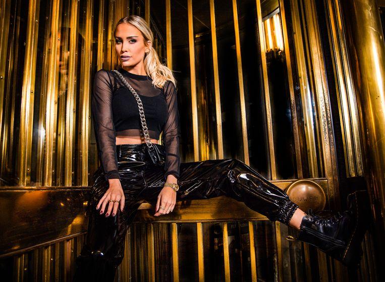 Anouk Matton op de set van haar nieuwe videoclip