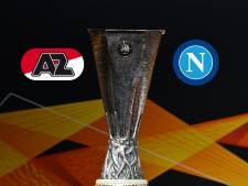 AZ kan Napoli voor tweede keer verslaan