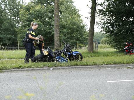 Motorrijder gewond na ongeluk in Zwolle