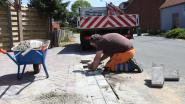 Nieuwe voetpaden voor verscheidene centrumstraten