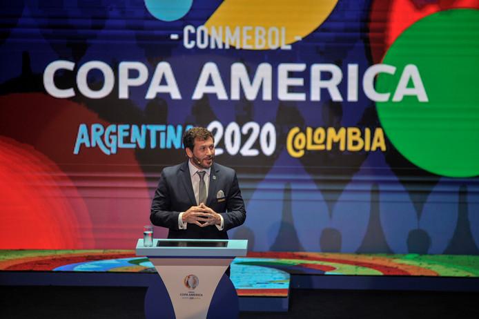 CONMEBOL-president Alejandro Dominguez,
