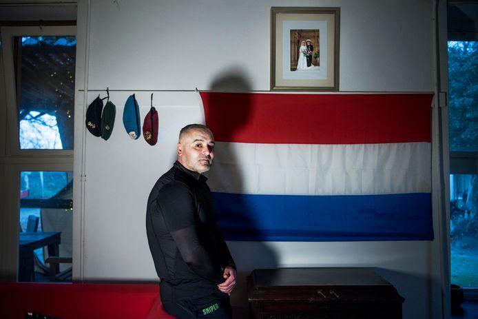 Jamal woont nu in een speciaal veteranenhuis voor mensen met PTSS.