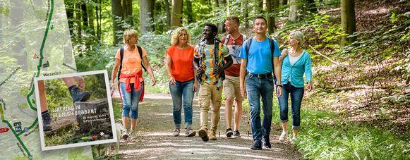 Toerisme Vlaams-Brabant ontwikkelde het wandelboek #Dewandelprovincie.