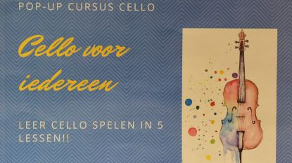 Ga voor een pop-up cursus cello