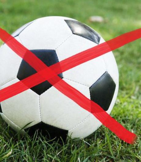Overzicht: deze amateurvoetbalwedstrijden zijn afgelast