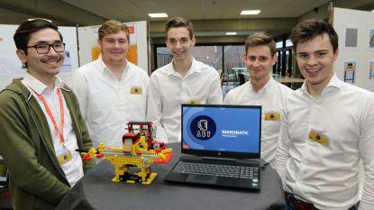Van elektronische escape room tot bierpongmachine: studenten Thomas More steken 'fun' in hun ontwerpen