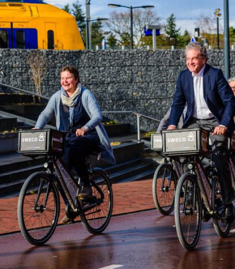 Project is een succes: De Bilt breidt uitgiftepunten van deelfietsen uit