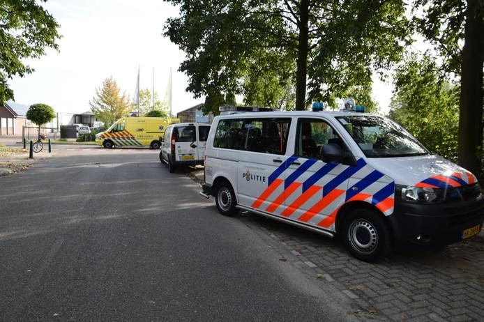 Een vrouw raakte gewond bij een aanrijding op de Lage Vaartkant.