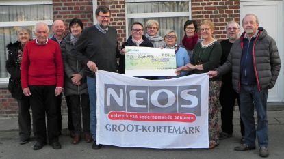 Neos zamelt 1.914 euro in voor goede doel