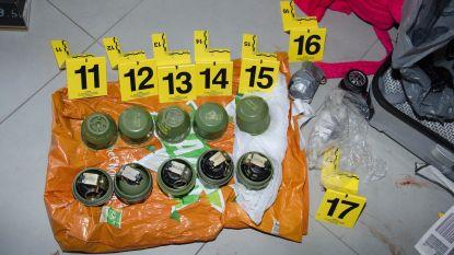 Kopstuk granatenbende is op de vlucht, tien leden zien aanhouding verlengd
