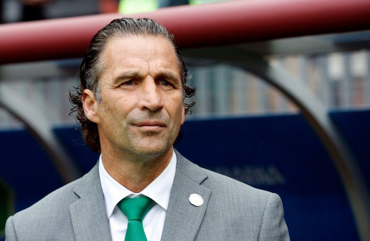 Juan Antonio Pizzi, bondscoach van Saoedi-Arabië.