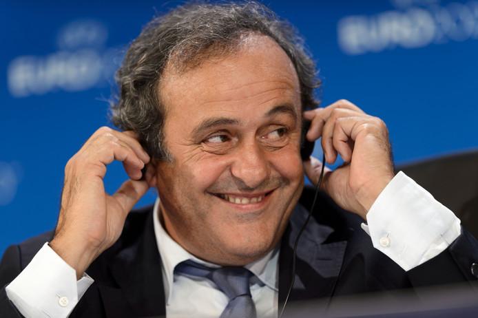 UEFA-voorzitter Michel Platini.