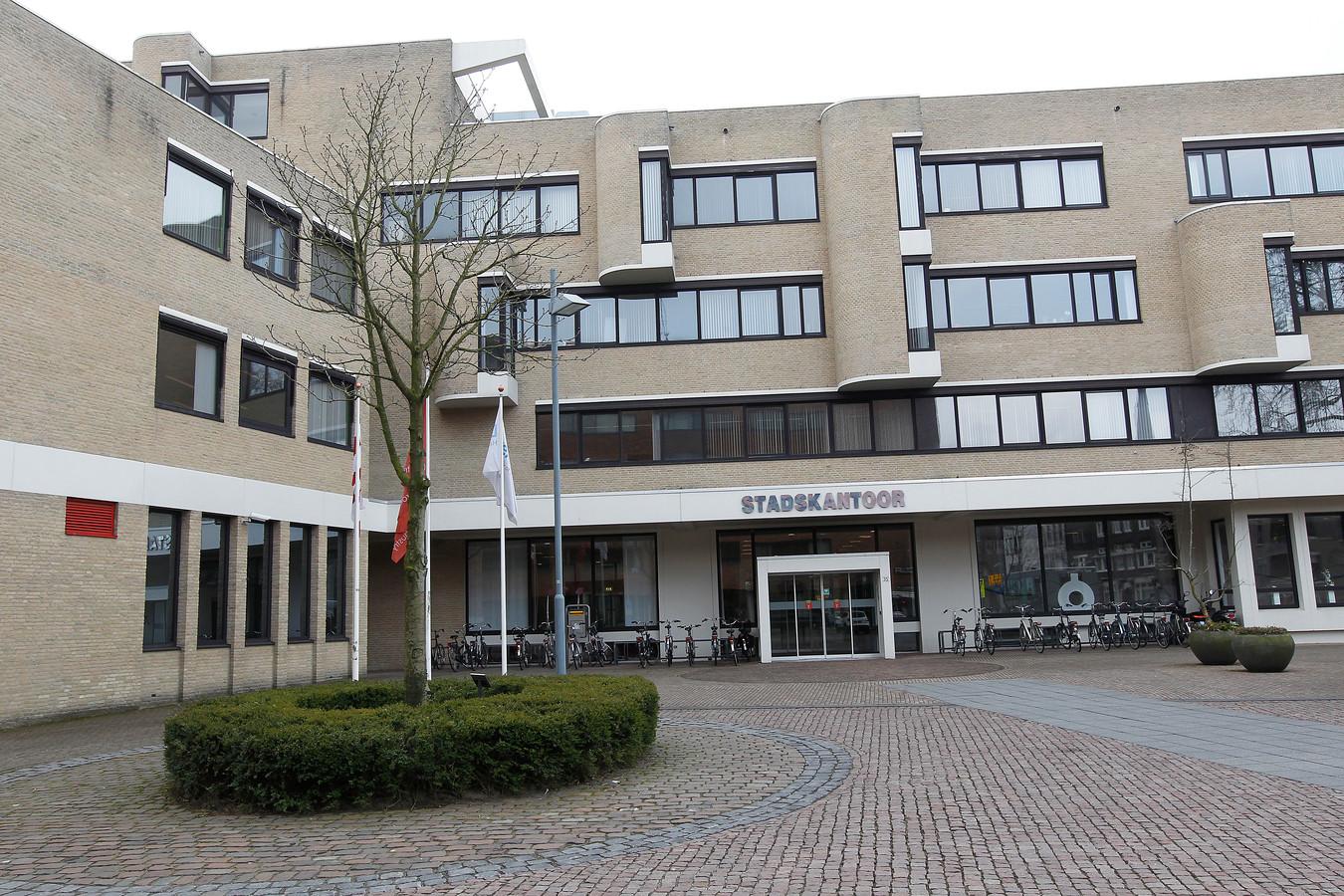 Het Stadskantoor in Helmond, dat in de recente plannen voor een nieuw 'Huis van de Stad' zou worden gesloopt en vervangen door nieuwbouw.