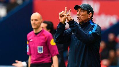 Jean-Louis Gasset stopt aan eind van het seizoen als trainer van Montpellier