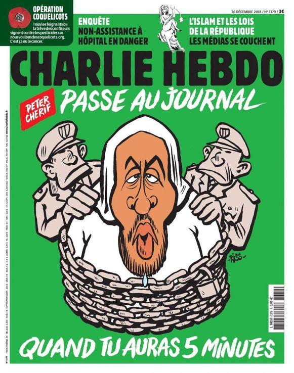 De nieuwe editie van Charlie Hebdo ligt woensdag in de krantenkiosken.