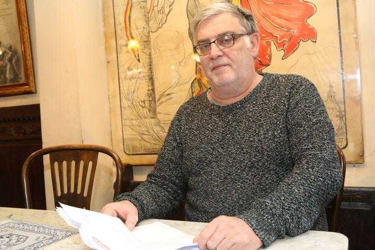 Joël Dereze is boos op het ABVV.