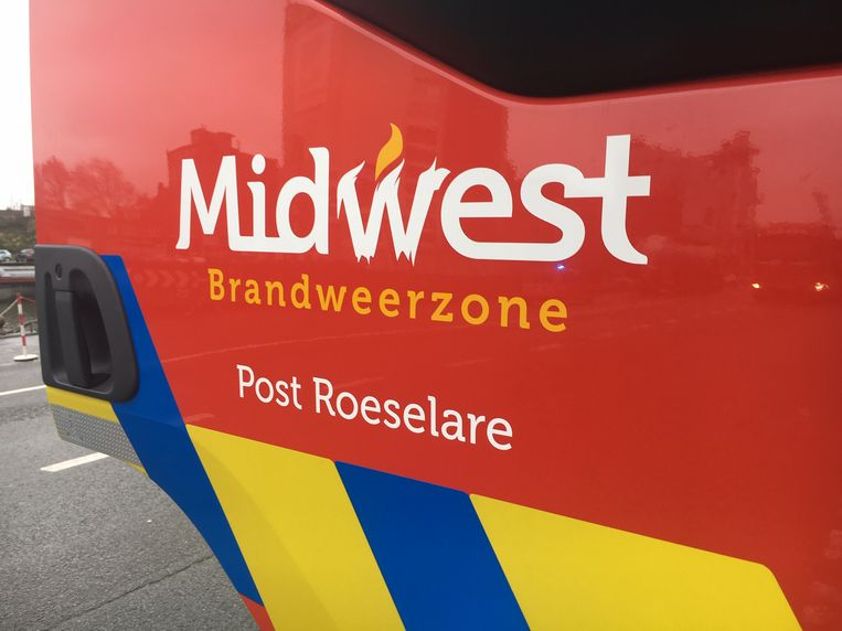 de brandweerpost Roeselare van de zone Midwest