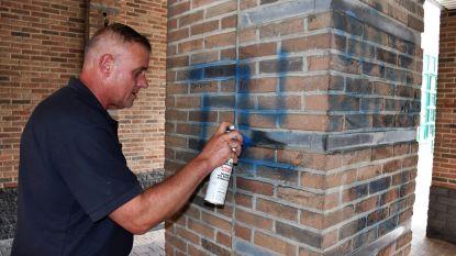 Verwijdering racistische graffiti verloopt moeizaam