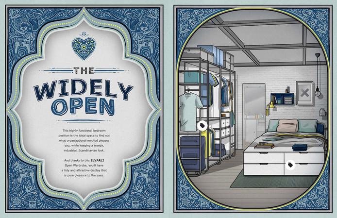 De 'Widely Open' in de catalogus.